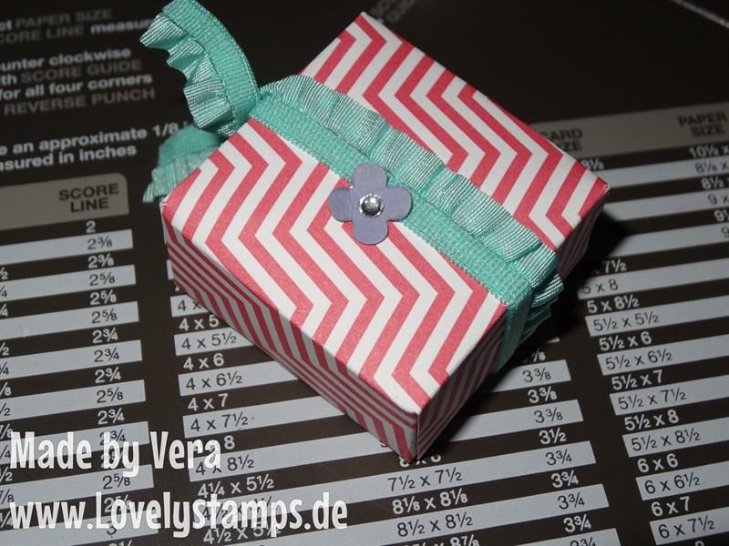 Mini Box mit Punchboard