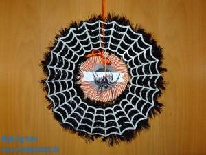 Halloween Kranz genial gruselig