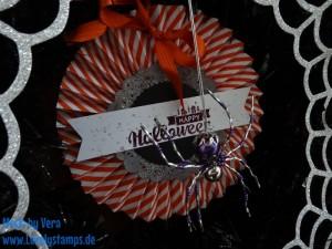 Halloween Kranz genial gruselig 2