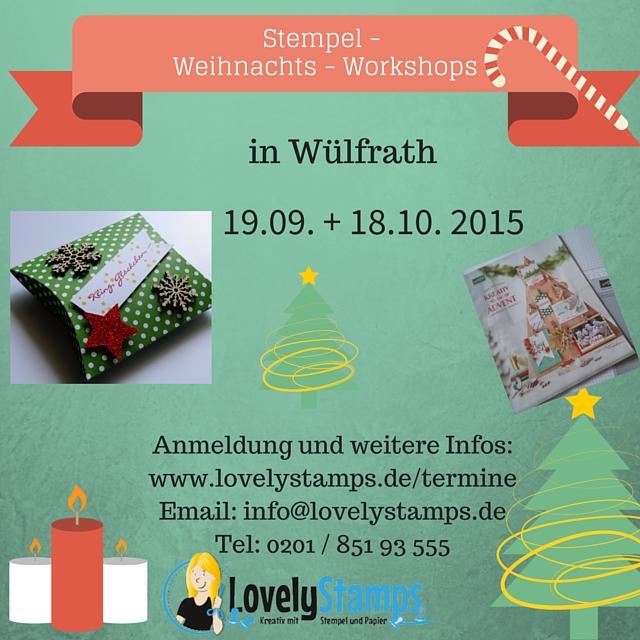 Weihnachts-Workshops