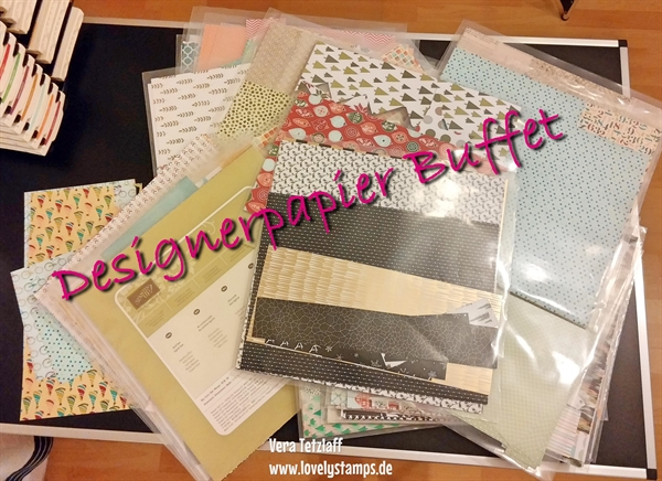 Stampin' Up! Designerpapier Buffet