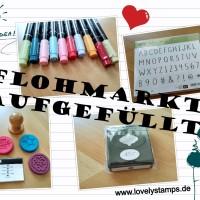 Blog Flohmarkt aufgefüllt