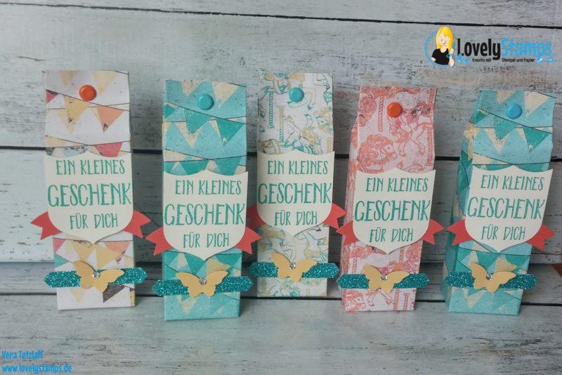 Geschenkverpackungen mit Designerpapier