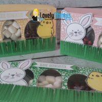 bunte Verpackungen Ostergrüße