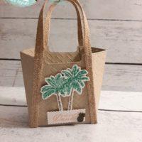 Strandtasche Palmen So stilvoll