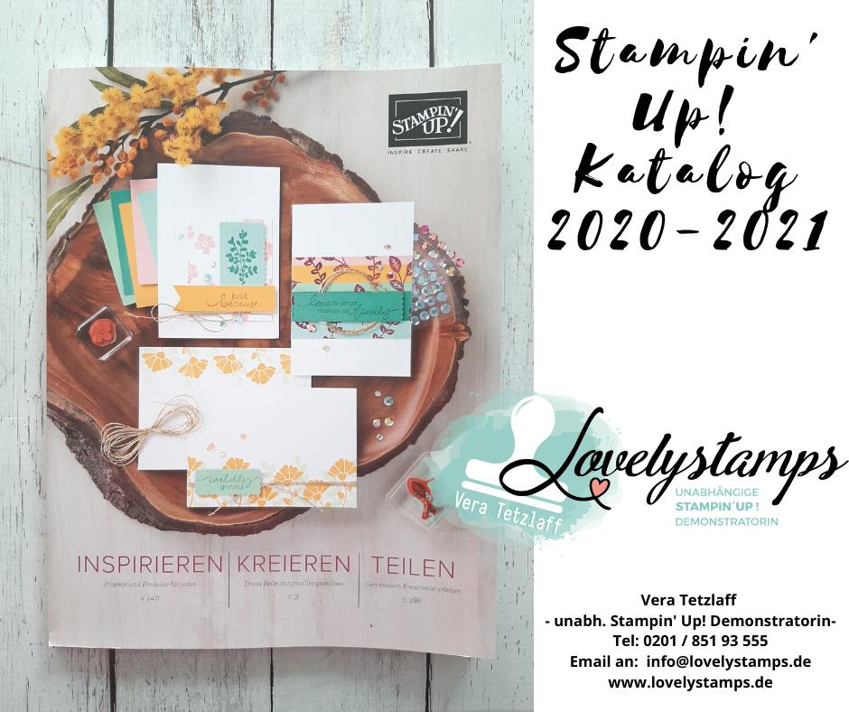 Kataloge von Stampin' Up! anfordern