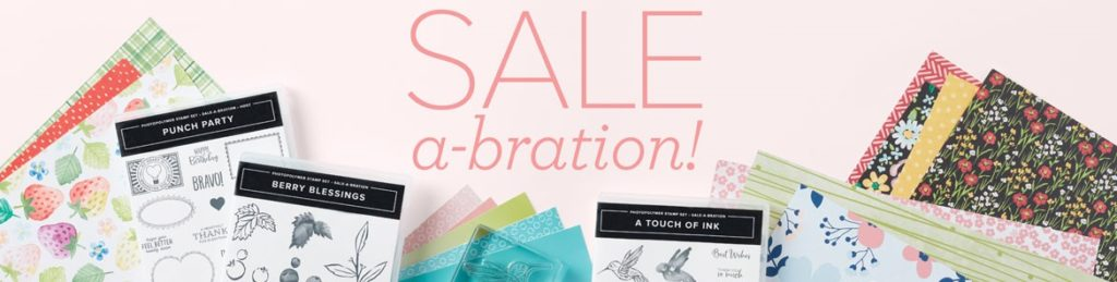 Stampin' Up! Sale-a-bration 2021