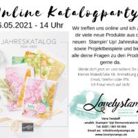 Einladung Katalogparty 2021