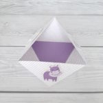 Origami Schale Hippo
