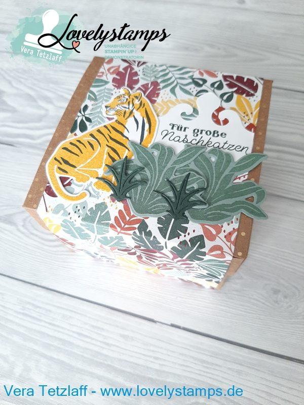 Geschenkverpackung mit Tiger